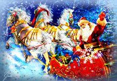 Открытка с наступающим Новым годом - С наступающим Новым годом - Анимированная открытка