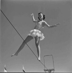circus tightrope walker - Google Search