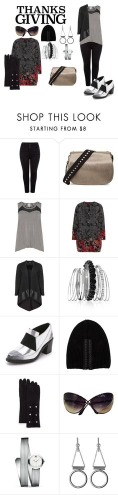 """""""Plus Size Home for Thanksgiving"""" by tweedleduh on Polyvore featuring Valentino, Marika, Chalona, Avenue, UN United Nude, Vera Wang, Neiman Marcus, Tom Ford, Movado and Whistles"""
