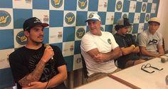 Coletiva de imprensa do Hang Loose Pro Contest 30 anos reúne 2 campeões mundiais | Surftoday