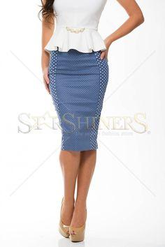 StarShinerS Overstate Blue Skirt