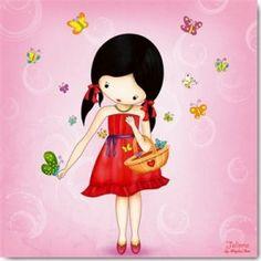 Jolinne- It`s a Butterflies Kind of Day I | Jolinne | PostcardWorld.eu