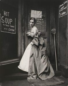 Fashion photograph by Bruno Benini, 1957