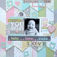You Have My Heart **Simple Stories DT** - Scrapbook.com