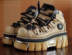 sale// 35 New Rock platform camel shoes by VintagePlatformDeal