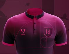 Adobe Indesign, Football Shirts, New Work, Soccer, Behance, Concept, Gallery, Check, T Shirt
