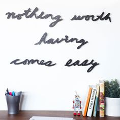 5-Pc. Motto for Perseverance Wall Decals//
