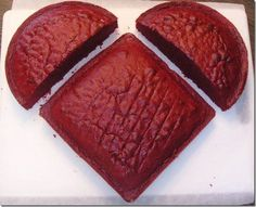how to make a heart cake tutorial