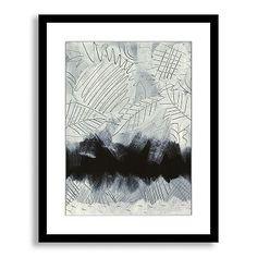 Sarah Campbell Wall Art - Scraffito Leaves