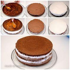 Torte Recepti, Kolaci I Torte, Baking Recipes, Dessert Recipes, Desserts, Torta Recipe, Torte Cake, Croatian Recipes, No Bake Cake