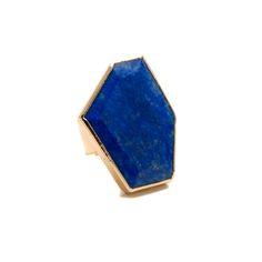 Janna Conner Lapis Unice Ring $135 #jannaconner