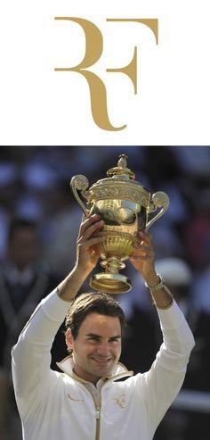 Roger Federer. La elección tipográfica aporta carácter y distinción, además de la síntesis con operaciones de corte.