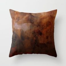 the fire in his head Throw Pillow