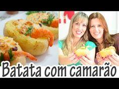 Receita de Batata recheada com camarão - Receitas e Temperos
