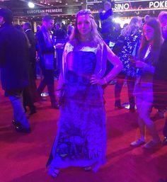 Emma J Shipley x Star Wars scarf (as dress) ⭐️ Star Wars fashion ⭐️ Geek Fashion ⭐️ Star Wars Style ⭐️ Geek Chic ⭐️ Geek Fashion, Star Fashion, Red Carpet Gowns, Geek Chic, Geek Stuff, Star Wars, Stars, Instagram Posts, Dresses