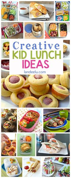 These Back to School lunch ideas are darling! I can't wait to try some of these for my kids!: