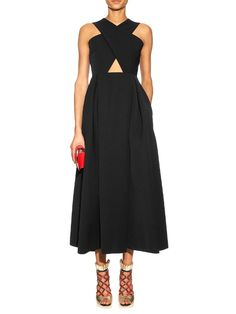 Preen By Thornton Bregazzi Saunt cut-out A-line dress