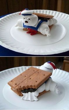 stay puft, marshmallow, smore