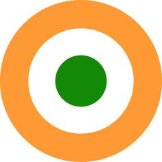 File:Roundel of India. Air Fighter, Fighter Jets, Air Force Wallpaper, Indian Army Wallpapers, Indian Air Force, History Of India, Defence Force, Nose Art, Aviation Art