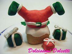 Santa claus cake - Forse ci vorrebbe un pò di dieta anche per Babbo Natale... Torta natalizia al dulce de leche...