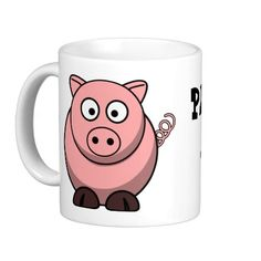 Pigs Make Me Happy Mugs