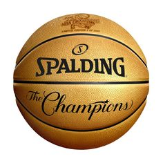 "This gold basketball commemorates the 2018 NBA Finals Champion Golden State Warriors. The ball will feature a 2018 Finals Champions logo, as well as ""The Champions."" It is officially licensed by the National Basketball Association. 2018 Nba Champions, Nba Golden State Warriors, Kevin Durant, Laser Engraving, Finals, Basketball Association"