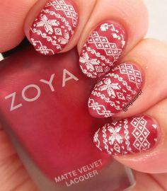 Zoya 'Posh' and plate QA57 from Born Pretty Store.