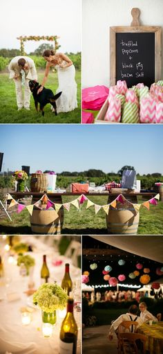Fulton Backyard Wedding from Megan Reeves Photography | Style Me Pretty