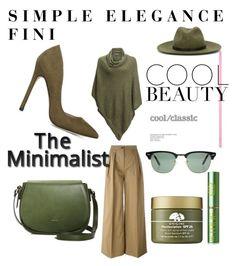 """The Minimalist"" by fini-i ❤ liked on Polyvore featuring Kavu, Moncler, Angela Roi, Ray-Ban, rag & bone, Origins and Tata Harper"