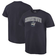 Georgetown Hoyas Campus T-Shirt - Navy