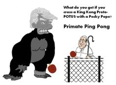 The Pope and the Big Ape