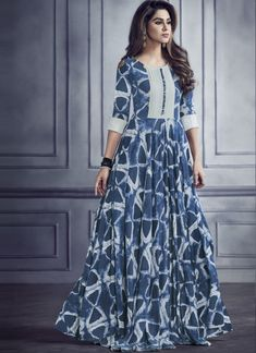 Shop from the huge collection of & Pvt. Shop stylish Kurti online for in various and Call @ or Whatsapp @ Kurta Designs Women, Kurti Neck Designs, Kurti Designs Party Wear, Gown Pattern, Dress Patterns, Frock Fashion, Fashion Dresses, Indian Designer Outfits, Designer Dresses