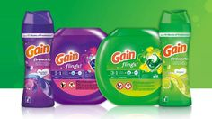 Gain Laundry and Dish Detergent, Fabric Softener Cleaning Items, Deep Cleaning, Cleaning Supplies, Dish Detergent, Laundry Detergent, Gain Fireworks, Fabric Softener, Moonlight, Breeze