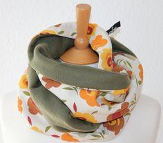 Blümchen Loop/ Schal/ Rundschal/ Blumen/  von SongbirdFashion, €24.90