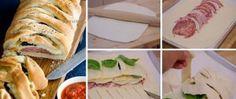 Recept Slaný italský koláč - Stromboli