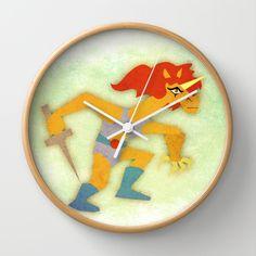 Thunder Unicorn Wall Clock