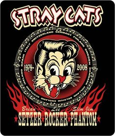 Darn! I've waited this long to find out my beloved Stray Cats t-shirt actually sports a Vince Ray design!