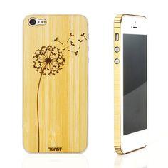 iPhone 5 Dandelion Bamboo Set