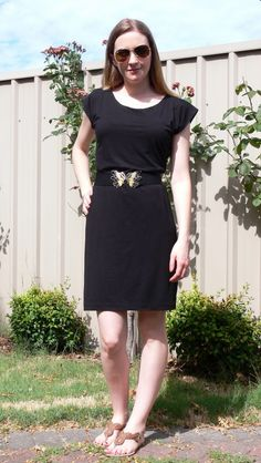 How to make a pattern from your DIY jersey dress
