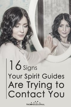 16 Signs Your Spirit Guides Are Trying to Contact You - The Minds Journal Spiritual Meaning, Spiritual Thoughts, Spiritual Guidance, Spiritual Awakening, Spiritual Growth, Spiritual Practices, Spiritual Life, Spirit Ghost, Spirit Signs