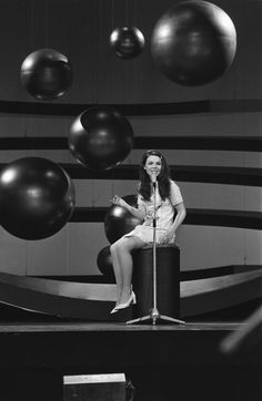 """Dana, winner of the Eurovision Song Contest 1970 with """"All Kinds of Everything"""" for Ireland"""