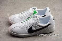 7fd65d26d228 Nike Bruin QS Low Retro Casual Leather Skateboard Shoes 842956-101  White Black-