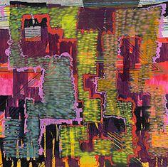 Keltie Ferris | oil, acrylic, pastel and spray paint on canvas