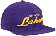 NBA Los Angeles Lakers Flat Brim Flex Hat - Ty32Z adidas. $13.88