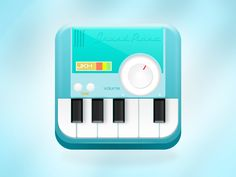 Grand Piano Icon 800 by John Khester