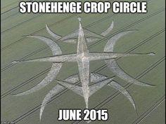Crop circle Stonehenge 30/06/15
