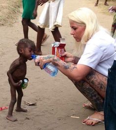 The video at the end 😭 In late 2015, an aid worker named Anja Ringgren Loven came across a starving two-year-old boy in Nigeria. His family abandoned him because they thought he was a witch. Sadly, this type of accusation is not uncommon.