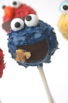 Sesame Street Cakepops / Barrio Sésamo