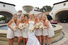 stone tan champagne bridesmaid dresses