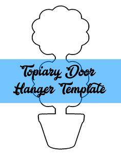 Truck Rear Door Hanger Template  Door Hanger Templates